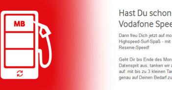 Vodafone SpeedGo Datenautomatik deaktivieren